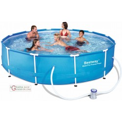 BESTWAY 56062 POOL FRAME WITH PUMP CM.366X76H