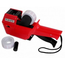 PRICE LABELER WITH 2 ROLLS OF LABELS