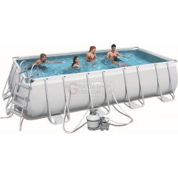 BESTWAY 56390 SWIMMING POOL WITH A CHASSIS POWER STEEL FRAME