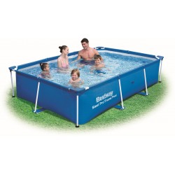 BESTWAY 56403 swimming POOL WITH a CHASSIS above GROUND STEEL