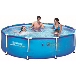BESTWAY 56406 SWIMMING POOL WITH FRAME STEEL PRO FRAME CM.