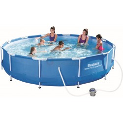 BESTWAY 56416 SWIMMING POOL WITH FRAME FULL STEEL FRAME
