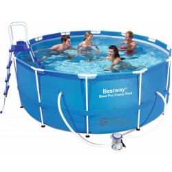 BESTWAY 56418 SWIMMING POOL SELF-SUPPORTING WITH FRAME CM.