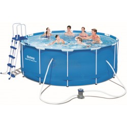 BESTWAY 56420 SWIMMING POOL WITH FRAME STEEL PRO FRAME