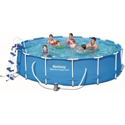 BESTWAY 56422 SWIMMING POOL WITH FRAME STEEL PRO FRAME