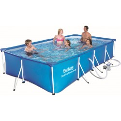 BESTWAY 56424 SWIMMING POOL WITH FRAME STEEL PRO FRAME