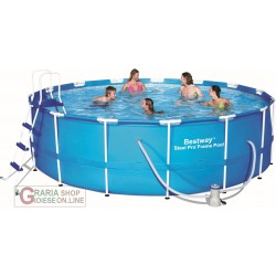 BESTWAY 56438 SWIMMING POOL STEEL PRO FRAME ROUND CM. 457x122