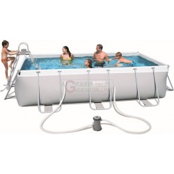 BESTWAY 56441 POOL WITH POWER STEEL FRAME CM.404x201x100h.
