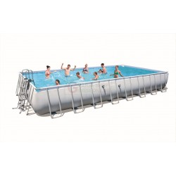 BESTWAY 56479 SWIMMING POOL WITH A CHASSIS POWER STEEL FRAME