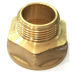 FITTING REDUCING BRASS EXTENSION F/M 1 X 3/4 INCH. ART. 246
