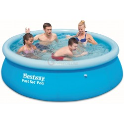 BESTWAY 57265 POOL AUTOPORTANTE FAST SET CM. 244x51h.