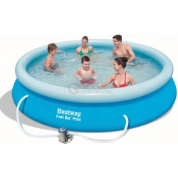 BESTWAY 57274 POOL AUTOPORTANTE FAST SET CM.366x76h.
