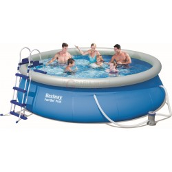 BESTWAY 57277 POOL AUTOPORTANTE FAST SET CM.366x91h.