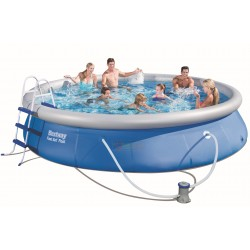 BESTWAY 57280 POOL AUTOPORTANTE FAST SET CM.457x91h.