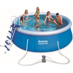 BESTWAY 57289 POOL AUTOPORTANTE FAST SET CM.457x122h.