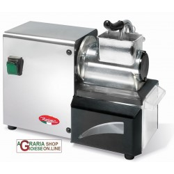 REBER ELECTRIC GRATER No. 3 IN POLISHED ALUMINIUM with box