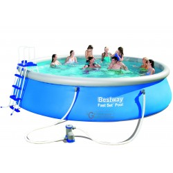 BESTWAY 57291 POOL AUTOPORTANTE FAST SET CM.549x122h.