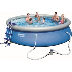 BESTWAY 57294 SWIMMING POOL FAST SET CM.457x107h.