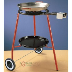 REBER KIT PAELLA CM. 42 CONPRESO COOKER SUPPORT THREE FEET WITH