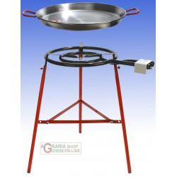 REBER KIT PAELLA CM. 60 INCLUDING COOKER SUPPORT THREE FEET AND