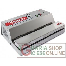 REBER VACUUM PACKING MACHINE STAINLESS STEEL BAR CM. 32 ECO PRO