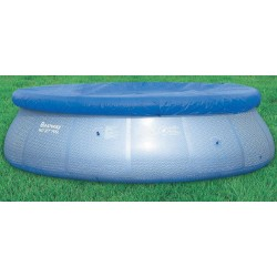 BESTWAY 58032 CLOTH TOP POOL COVER, INFLATABLE, DIAM. CM. 244
