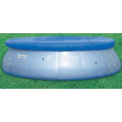 BESTWAY 58033 CLOTH TOP POOL COVER, INFLATABLE, DIAM. CM.305