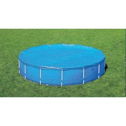 BESTWAY 58036 TARPAULIN TOP POOL COVER WITH FRAME-DIA. CM.305