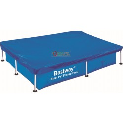 BESTWAY 58103 POOL COVER RECTANGULAR CM. 221X150