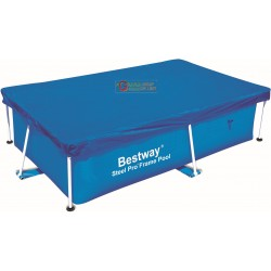 BESTWAY 58104 CLOTH, POOL COVER, RECTANGULAR CM.239X150X58