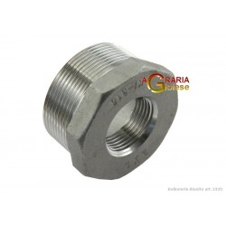 REDUCTION IN AISI 316 STAINLESS STEEL M/F 1 - 1/2 IN.