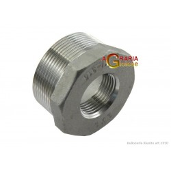 REDUCTION IN AISI 316 STAINLESS STEEL M/F 1 IN. 3/4 IN.