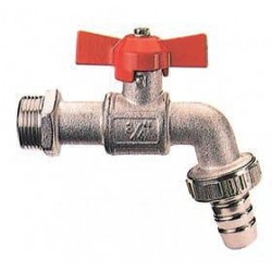 BALL TAP WITH HOSE 1/2 THROTTLE