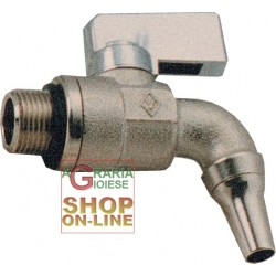 FAUCET FOR OIL CONTAINER 1/2 CHROME