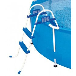 BESTWAY 58430 DOUBLE LADDER CLIMB FOR POOLS HEIGHT CM. 84