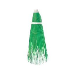 BROOM STREET CLEANER IN GREEN PLASTIC