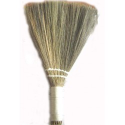 HAND BROOM BY THE FIREPLACE CM. 35