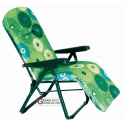 BEACH CHAIR WITH FOOTREST 6-POSITION MODEL AND AMALFI R 788 CN