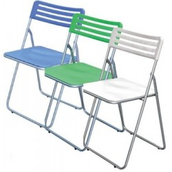 FOLDING CHAIR MADE OF ABS LILAC
