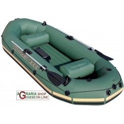 BESTWAY 65056 INFLATABLE BOAT VOYAGER FISH FABRIC TENDER CM.