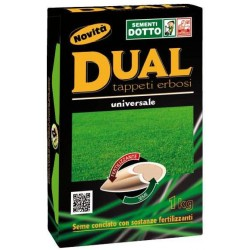 THE SEEDS OF LAWN TURF SELECTED DUAL SEED SUGARED ALMONDS KG. 1