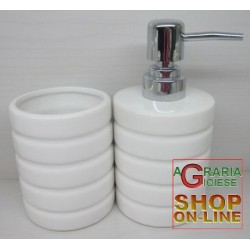 SERIES TOOTHBRUSH HOLDER AND SOAP FOR THE BATHROOM-STANDING