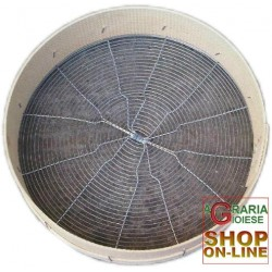 SIEVE FOR OLIVES CRIVO SIEVE DEFOGLIATORE MANUAL, DIAM. CM. 45,5