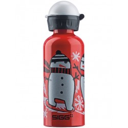 SIGG BOTTLE ALUMINUM WATER BOTTLE RED 8456.70 SNOWBOARDING
