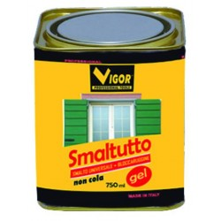 ENAMEL ANTI-RUST SMALTUTTO GEL 9005 GLOSSY BLACK ML. 750
