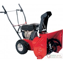 SNOW THROWER TWO-STAGE, NGP SNOWY 65 HP. 6,5 CUTTER CM. 65 SNOW