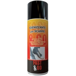 SPRAY NEW FAST SANITIZING SHOES ML.400