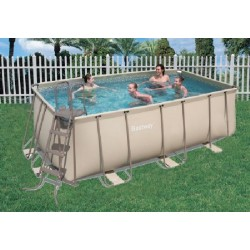 BESTWAY SWIMMING POOL WITH FRAME CM.414X216X122H mod. 12033