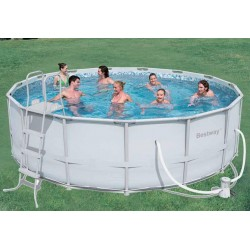 BESTWAY SWIMMING POOL WITH FRAME CM. 457X122 MOD. 56235