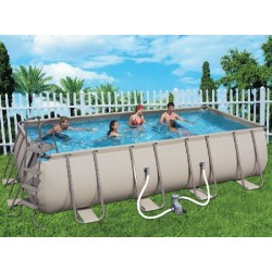 BESTWAY POOL FRAME WITH PUMP CM.549X274X122H MOD. 56131